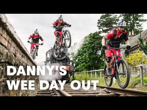 Wee Day Out Danny MacAskill s Performs Wild Mountain Bike Stunts Around