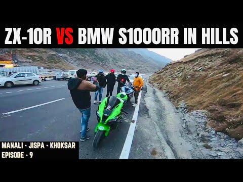 ZX-10R vs BMW S1000RR IN HILLS || EPISODE - 9