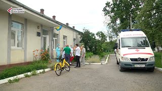 «Контінентал Фармерз Груп» передає карету швидкої допомоги для Жовтанецької ОТГ