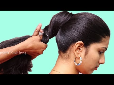 Beautiful Party hairstyle with open hair  Latest hairstyles for long hair  hair style girl