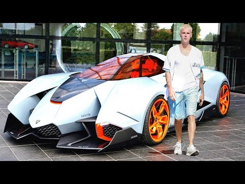 Justin Bieber New Car Collection & Private Jet ★ 2017