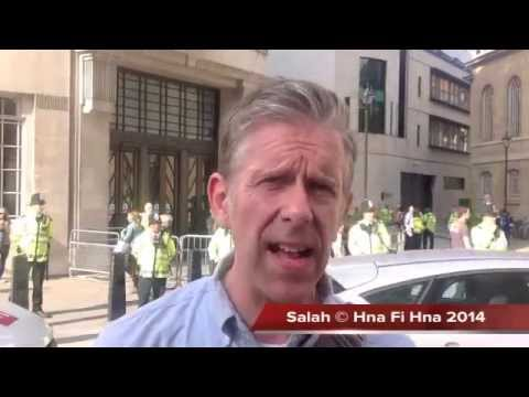 Thousands protest alleged BBC Israeli bias over Palestine 15 07 2014