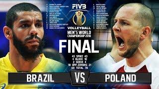 Video Brazil vs. Poland | FINAL |  Mens World Championship 2018 MP3, 3GP, MP4, WEBM, AVI, FLV November 2018