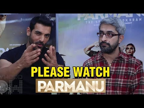 John Abraham Promotes His Film Parmanu With Direct