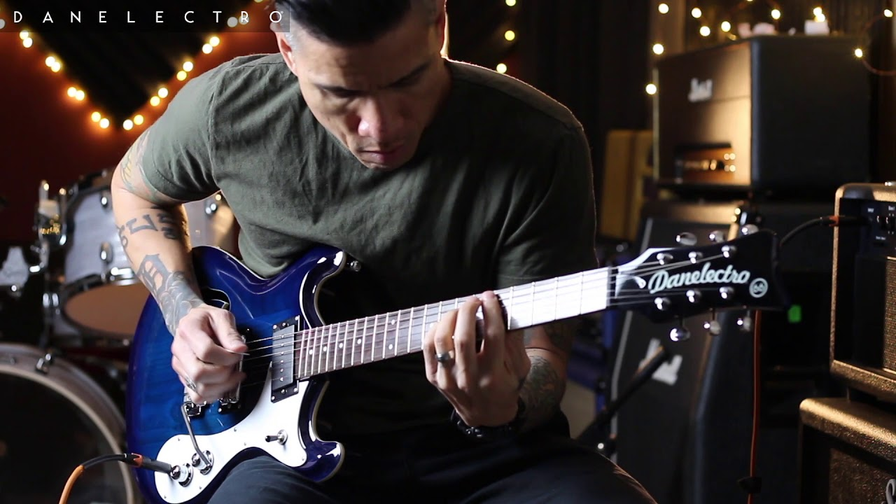 Danelectro '66T guitar demo by RJ Ronquillo