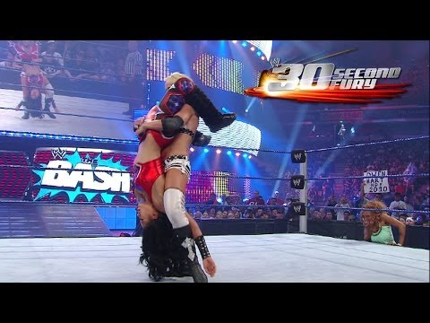second - Michelle McCool is featured in this week's episode of 30 Second Fury. The