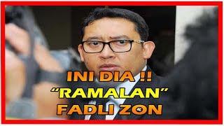 Video Ramalan Fadli Zon, Mulai dari Prabowo Jadi Presiden Hingga Trump akan Lengser MP3, 3GP, MP4, WEBM, AVI, FLV Desember 2017