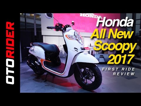 Honda All New Scoopy 2017 First Ride Review - Indonesia | OtoRider