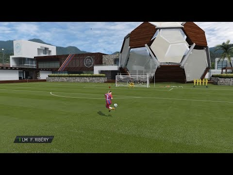 Practice Arena From FIFA 11 To FIFA 19