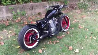 7. Bobber Review video Honda shadow 600 Bobber