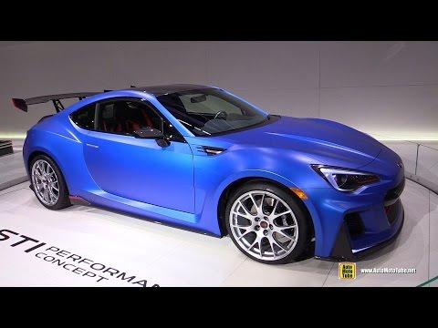 subaru brz sti performance concept - exterior walkaround