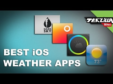 5 Gorgeous Alternative Weather Apps