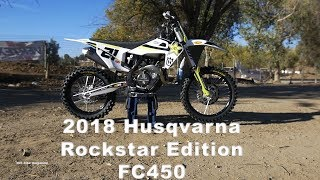 4. 2018 Husqvarna Rockstar Edition FC450 - Dirt Bike Magazine