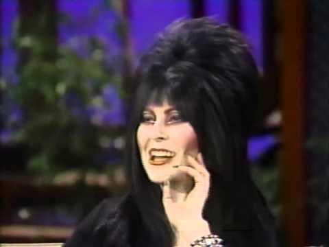 Elvira visits Alan Thicke 1983