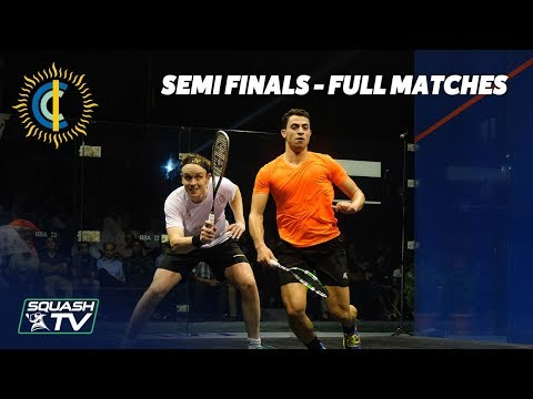 Squash: CCI International 2019 Semi Finals - Full Matches