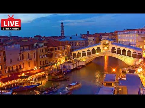 Venedig Live Cam - Rialto Bridge in Live Streaming