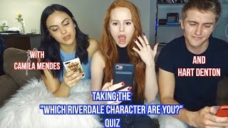 Video Taking Riverdale Quizzes with Camila Mendes and Hart Denton| Madelaine Petsch MP3, 3GP, MP4, WEBM, AVI, FLV Desember 2018
