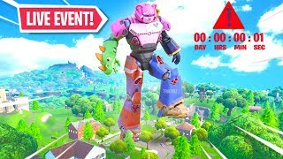 *NEW* Fortnite ROBOT vs MONSTER EVENT RIGHT NOW! Live Event (Fortnite Battle Royale)