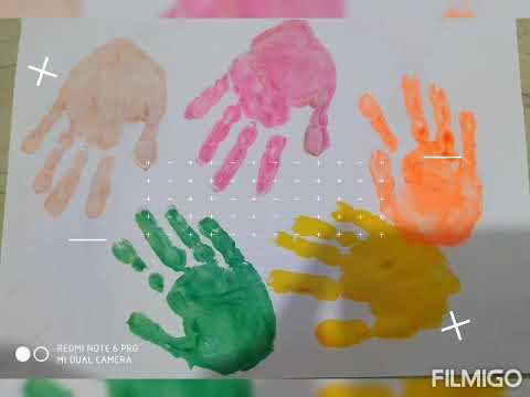 Hand Print Activity