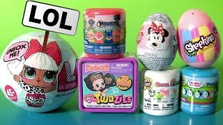 Video TOY SURPRISES LOL DOLLS TWOZIES BABY Mashems Fashems Shopkins by FUNTOYS MP3, 3GP, MP4, WEBM, AVI, FLV Juni 2017