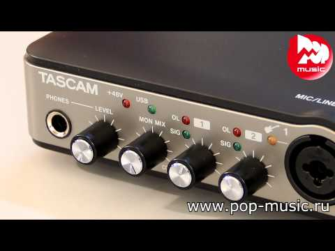 Аудио интерфейс TASCAM US-200