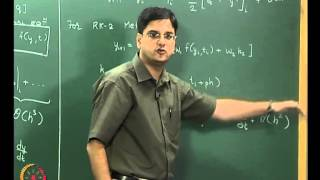 Mod-07 Lec-26 Ordinary Differential Equations (initial value problems) Part 2