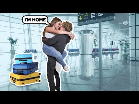 REUNITING WITH MY LONG DISTANCE GIRLFRIEND **ROMANTIC SURPRISE** ✈️💞|Lev Cameron