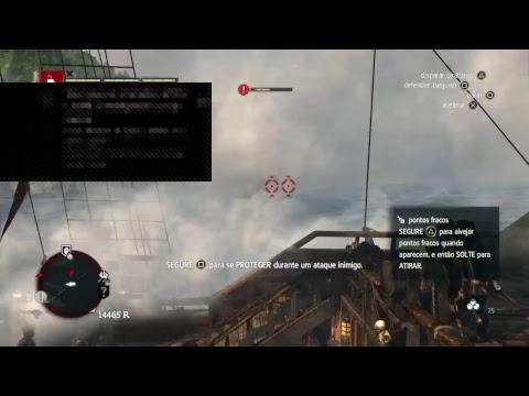 Vídeos engraçados - Live de Assassin's Creed Freedom Cry