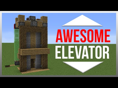 Best elevator ever minecraft project