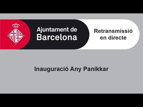 Acte d'inauguració de l'Any Raimon Panikkar