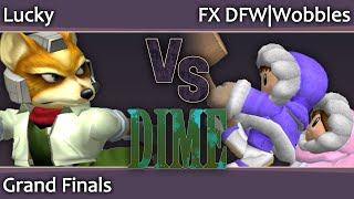 Want to see Wobbles vs Lucky from DIME13? Well here you go ;-)