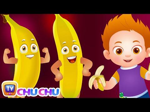 Banana Song (SINGLE) | Learn Fruits for Kids | Educational Learning Songs Nursery Rhymes | ChuChu TV