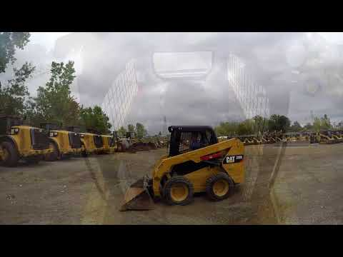 CATERPILLAR KOMPAKTLADER 236D equipment video K_jS2sUf6Lc