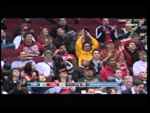 Kevin Martin's monster jam vs. Timberwolves