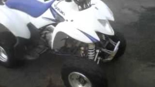 8. 2005 Suzuki 250 quad sport