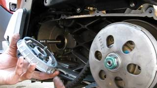 9. Honda SH150i Variator Removal