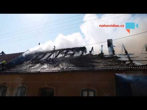 Požár domu Silůvky 2