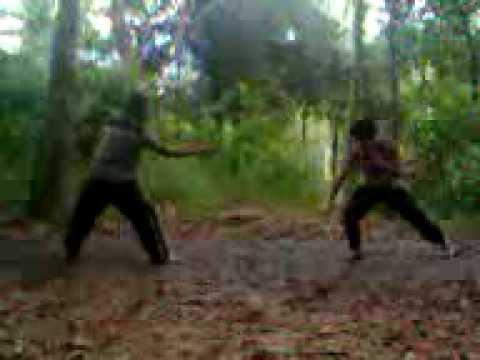 kungfu vs silat (real video)
