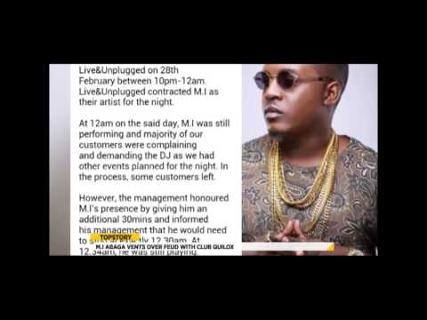 E-XTRA TOP STORY: MI ABAGA VENTS OVER  FEUD WITH CLUB QUILOX