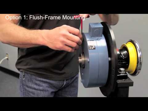 How to Float Mount a MAGPOWR Global Series Magnetic Particle Brake