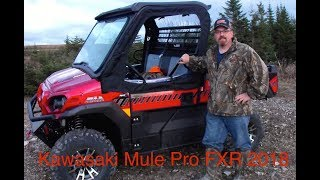 9. Kawasaki Mule Pro FXR 2018 Walk-around and Test Drive