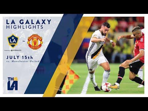 Video: HIGHLIGHTS: LA Galaxy vs. Manchester United | July 15, 2017