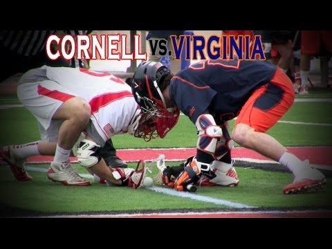 Lacrosse - Down 5-2 to No. 2 Virginia and looking for a spark late in the second quarter, the No. 15 Cornell men's lacrosse team turned things around quickly thanks to ...