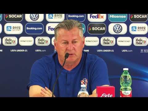 Konferencija za medije Hrvatske U-21 i najava utakmice protiv Francuske