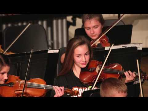 Excerpts from the CCMS Orchestra and Band Spring Concert