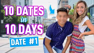 Brooklyn's 10 DATES in 10 DAYS | Meet Jorge (Date #1) by Brooklyn and Bailey