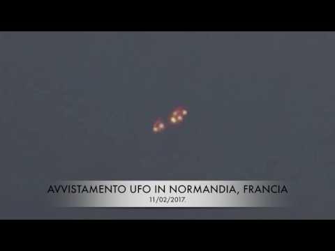 oggetto volante filmato in normandia: drone, ufo, ebani?