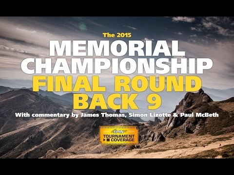 2015 Disc Golf Memorial Championship final round, Back 9 (Lizotte, Koling, McBeth, Feldberg)