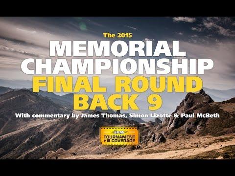 2015 Disc Golf Memorial Championship final round, Back 9 (Lizotte, Koling, McBeth, Feldberg)
