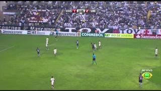 COPA SUL-AMERICANA 2011 QUARTAS-DE-FINAL VOLTA Estádio Vasco da Gama (São Januário), Rio de Janeiro/RJ VASCO (BRASIL) 5 x 2 UNIVERSITÁRIO (PERU) (1:52) 1º 23...